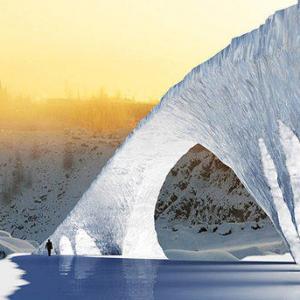 В Антарктиде нашли мост и шоссе