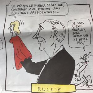 Charlie Hebdo высмеял выборы-2018