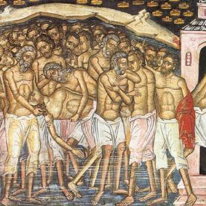 40 святых: праздник и приметы