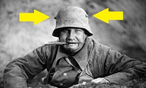 Зачем немецкие солдаты надевали рогатые шлемы