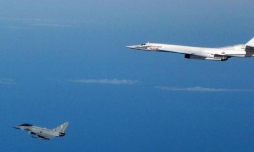 Британские ВВС опозорились с перехватом российских стратегических бомбардировщиков