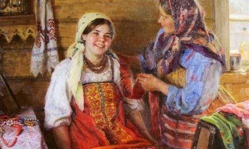 В каких случаях женщины на Руси ходили обнаженными