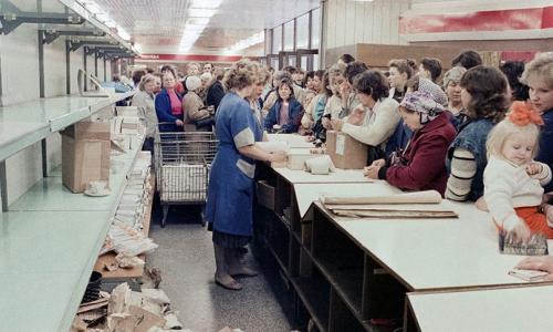 Как и зачем Горбачёв создал дефицит продуктов?