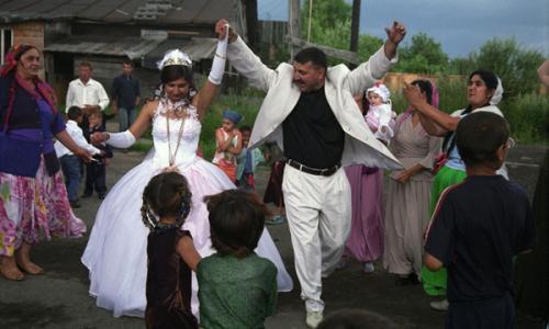 Вот что делают с цыганкой в день свадьбы