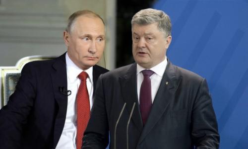 Порошенко испуганно притих после слов Путина