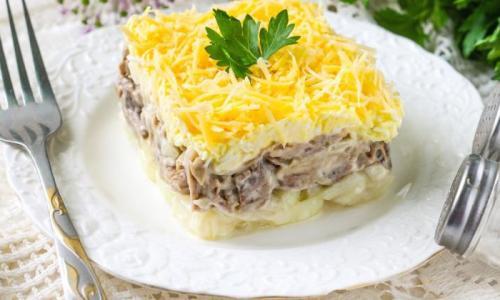 Готовим вкуснейший слоёный салат «Мужские слёзы»