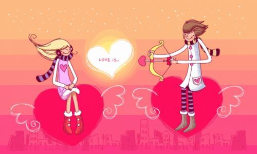 Внимательно следите за своей половинкой в День святого Валентина!