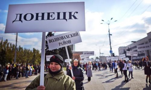 На Россию повесили пенсии в Донбассе