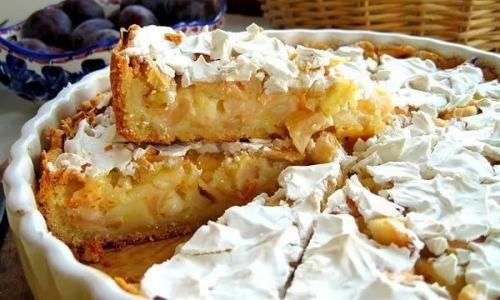 Этот яблочный пирог просто тает во рту