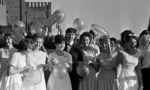 Советские выпускные: как к ним готовились и как проводили