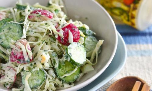 Три салата, рецепты которых пригодится вам в любой день!