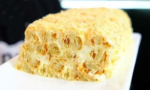 Торт из 3 ингредиентов лучше Наполеона / рецепт торта за 30 минут, простой, быстрый и вкусный торт