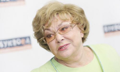 Дерущаяся Пьеха вынудила Корчевникова спрятать лицо