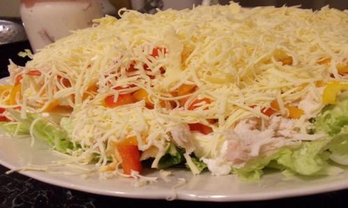 Невероятно вкусный салат: минимум продуктов, а результат - потрясающий!