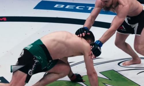 Российскому бойцу MMA «Мотиватору» сломали ногу в первую же минуту, но он выстоял четыре раунда