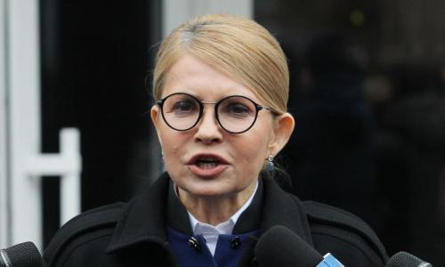 Порошенко по телефону призвал Тимошенко проголосовать за него