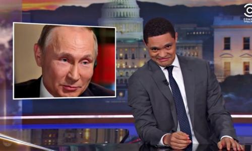 Comedy Central: Путина загоняют в угол, а он только смеётся