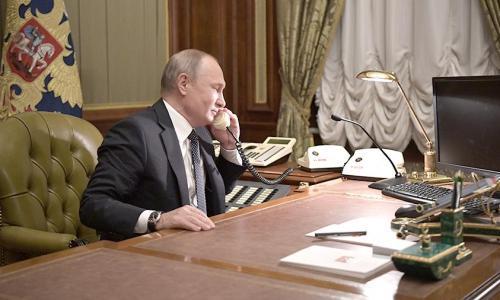 В Кремле оценили разговор Путина и Зеленского