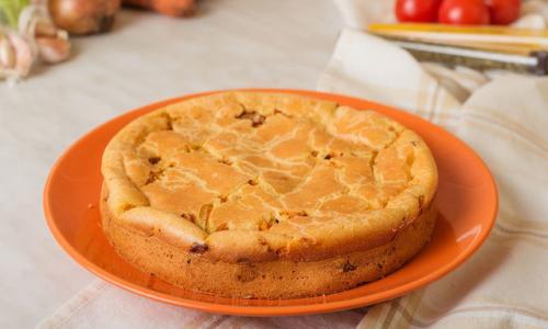Очень нежный пирог из простых продуктов!