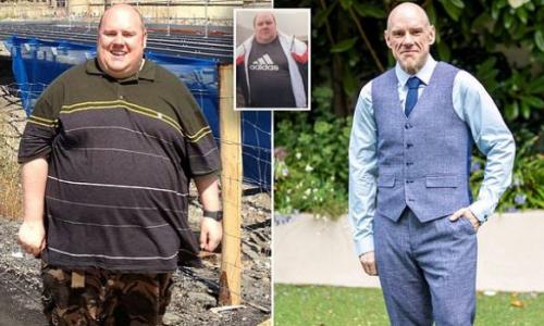 Мужчина похудел на 100 кг из-за того, что не смог подняться на Великую китайскую стену
