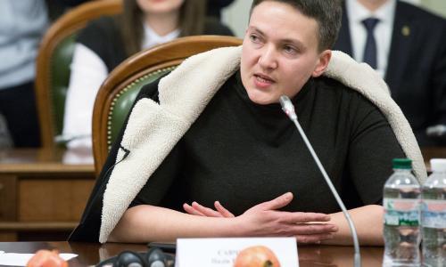 Депутаты Рады одобрили представления о задержании и аресте Савченко