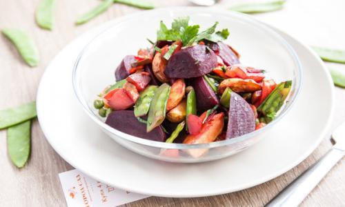 Как быстро приготовить самый полезный в мире салат?