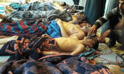 Американские журналисты приехали в Сирию и опровергли новость о химатаке