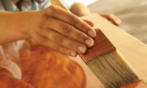 Типы защитных средств для древесины