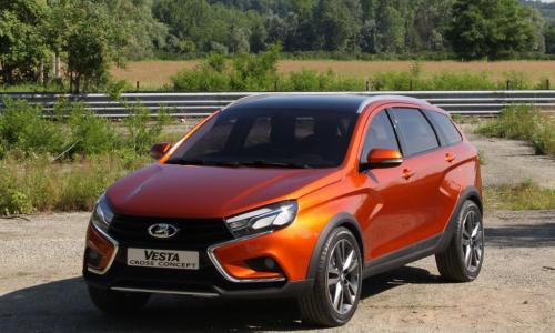 АвтоВАЗ показал внедорожную версию седана LADA Vesta