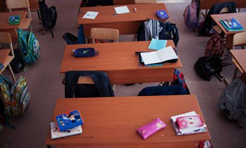 Родители учеников московской школы устроили забастовку