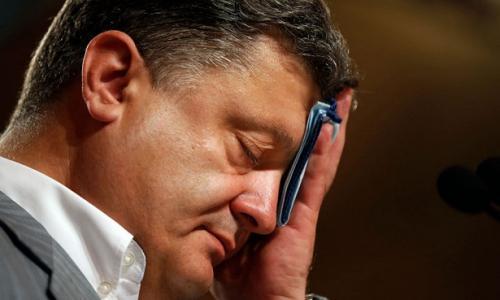 Путин щелкнул по носу вороватого Порошенко