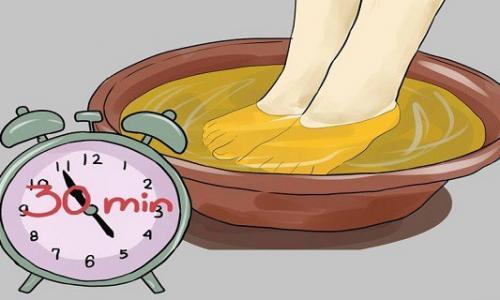Замачивайте ноги в уксусе один раз в неделю, и вы увидите, как исчезнут все ваши болезни