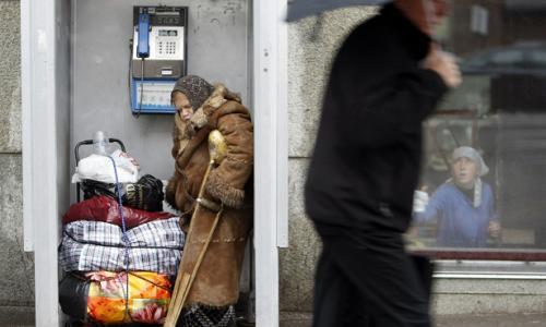 Названо число бедных в России