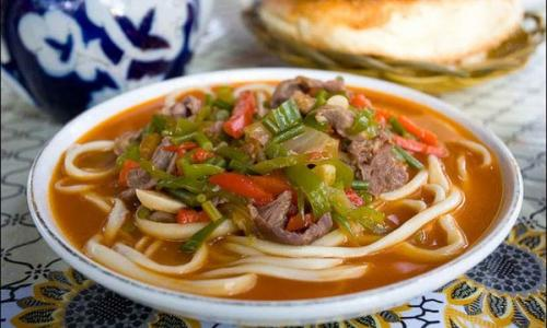 Вкуснейший суп «Лагман»