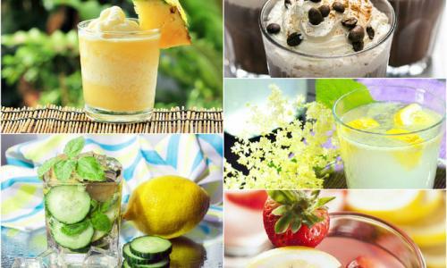 Летние напитки: рецепты в жару