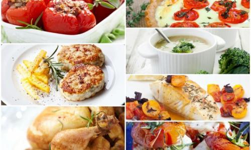 7 ужинов: аппетитные рецепты на неделю