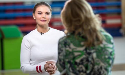 Кабаева впервые рассказала о своей дочери
