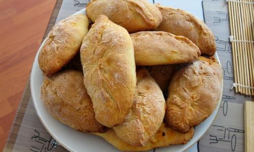 Пирожки с капустой супер-быстрого приготовления