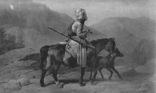 Как казнили на Кавказе за кражу коней