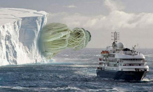 5 необъяснимых объектов Антарктиды