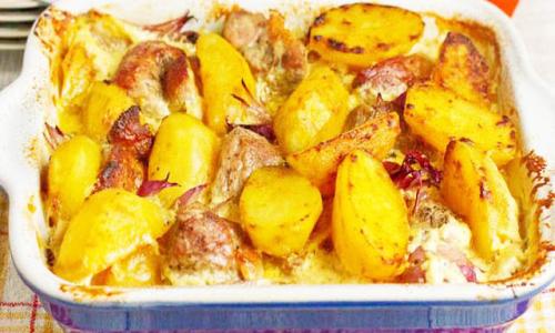 Картошечка в духовке которая понравится всем- очень вкусный рецепт