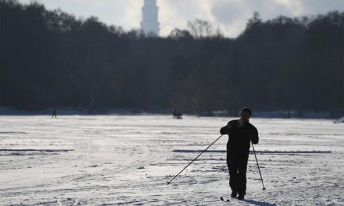 Аномальные морозы двинулись на Россию