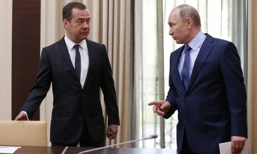 Какая пенсия у Путина с Медведевым и членов правительства?
