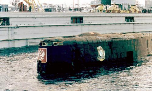 Восстановлена хронология гибели подлодки «Курск»
