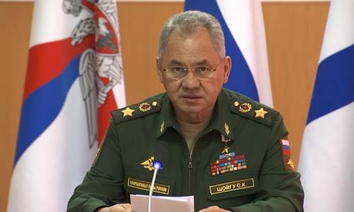 Шойгу заявил о переброске войск США и НАТО к границам России