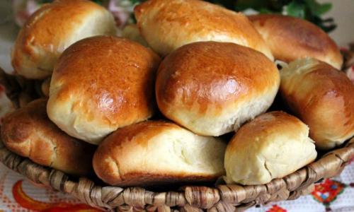 Маленькие пирожки с картошкой: Нравятся всем!