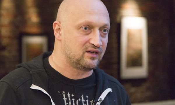 Актер Гоша Куценко заметно изменился для съемок нового фильма