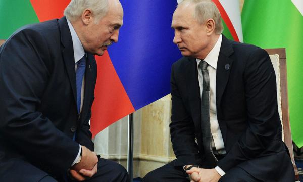 Лукашенко поблагодарил «старшего брата» Путина за поддержку